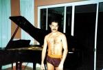 Freddie Mercury in Garden Lodge