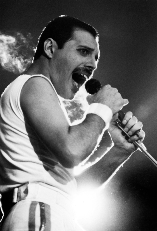Freddie Mercury in Stockholm, 10th June 1986