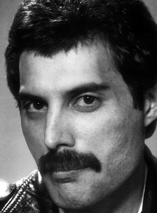 Freddie Mercury (Photo by Koh Hasebe / Music Life)
