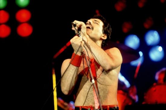 Freddie Mercury Live 1980