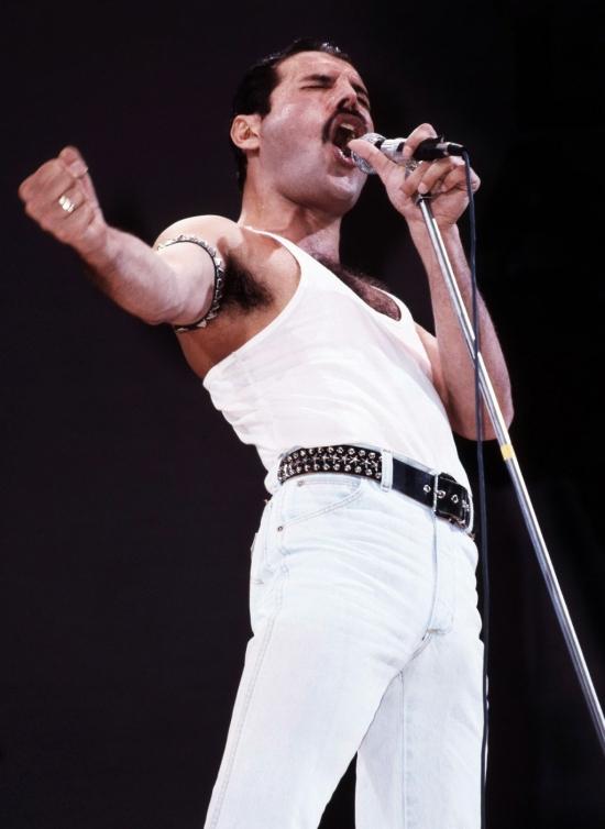 Freddie Mercury Live Aid  (2)