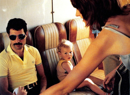freddie-mercury-with-john-deacons-son