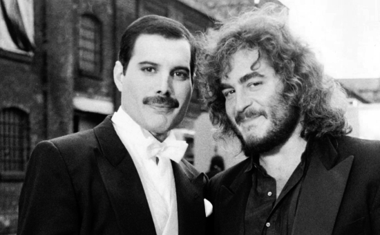 Freddie Mercury and Michael Kamen
