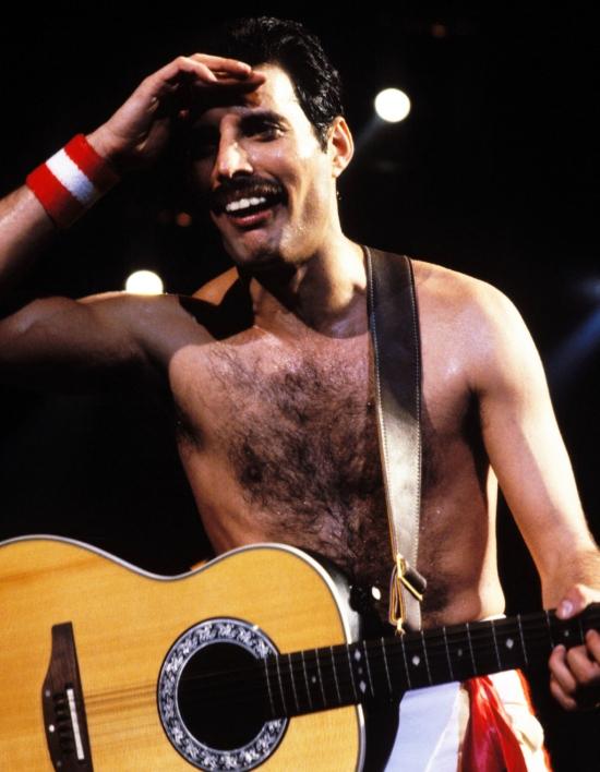 Freddie on stage 077
