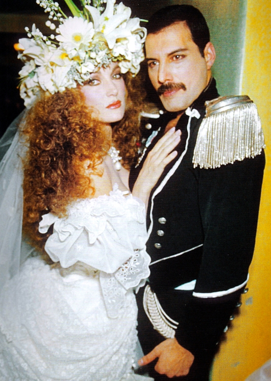 freddie-with-jane-seymour-at-fashion-aid-1985