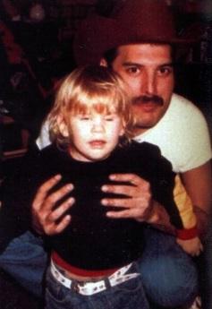 Freddie with Mack's son