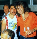 Freddie with Reinhold Mack