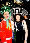 Freddie's 40th birthday party, 1986