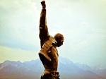 Freddie's statue in Montreux