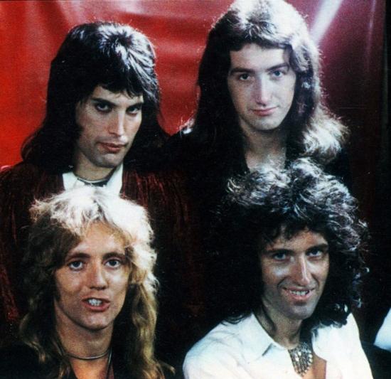 Queen w 1974, fot.: Mick Rock