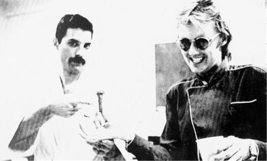 Freddie and Roger