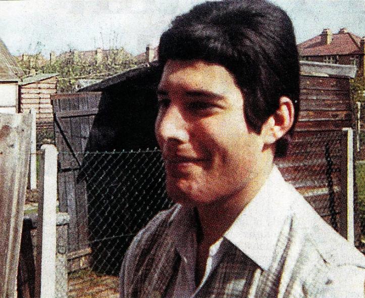 Freddie w latach '60.