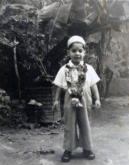 Freddie in Zanzibar