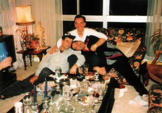 Graham Hamilton, Jim Hutton and Freddie