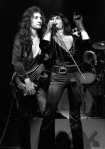 Freddie Mercury and John Deacon, 1974