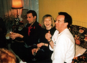 Freddie, Mary Austin and Graham Hamilton