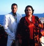 Freddie Mercury and Montserrat Caballé