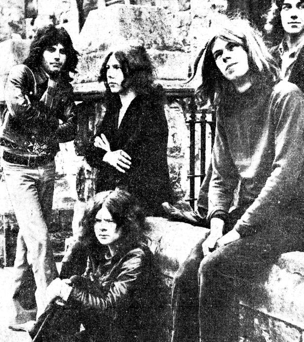 jedyne znane zdjęcie Freddiego i Sour Milk Sea, marzec 1970 r.; fot.: Oxford Mail