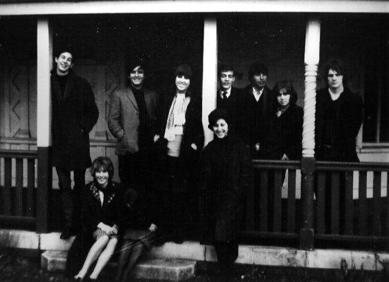 At Isleworth Polytechnic, 1964
