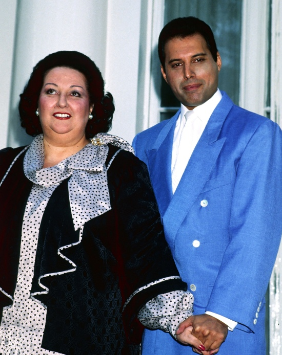 Freddie Mercury & Montserrat Caballé, 1987