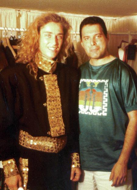 Freddie Mercury and Gard Passchier