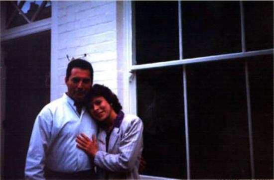 Freddie with fan
