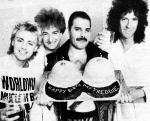 Freddie's birthday, 1984