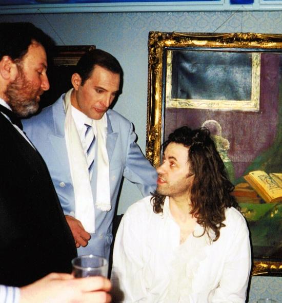 gerry-stickels-freddie-mercury-and-bob-geldof-in-1990