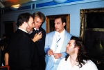 Harvey Goldsmith-roger-taylor-freddie-mercury-and-bob-geldof-in-1990