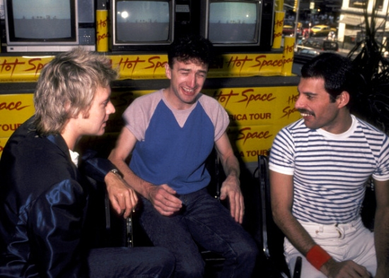 Hot Space Tour press conference in USA