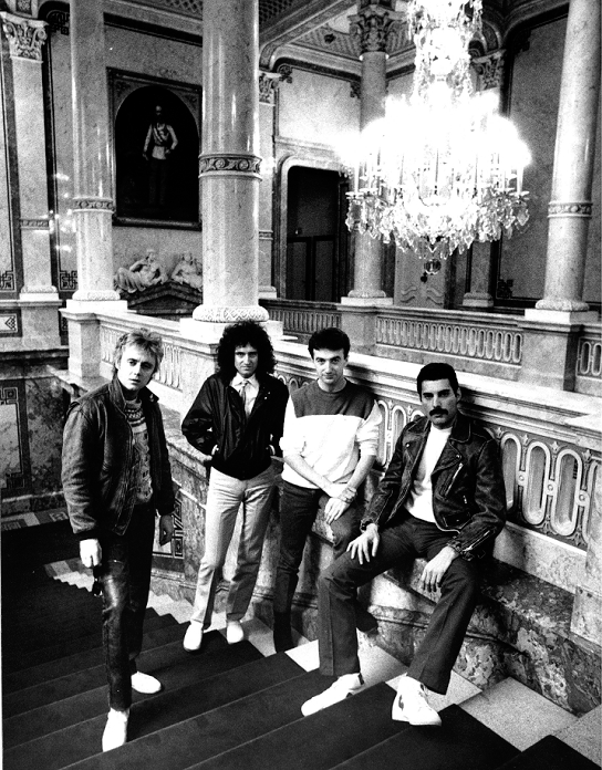 Queen at The Imperial Hotel in Vienna, 1982