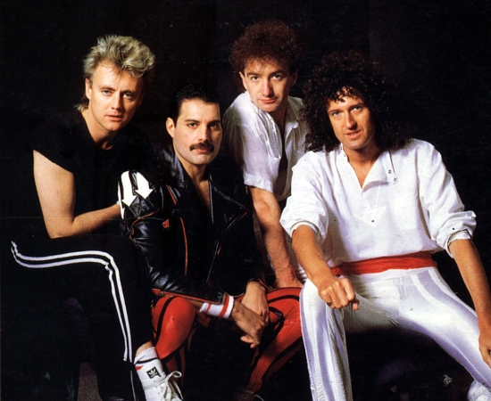 Queen circa The Works