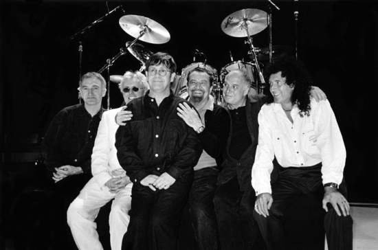 Queen + Elton John in Paris, 1997