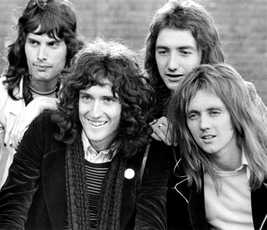 Queen in 1974