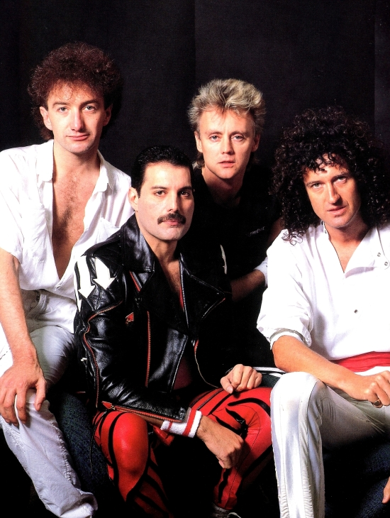 Queen in 1984