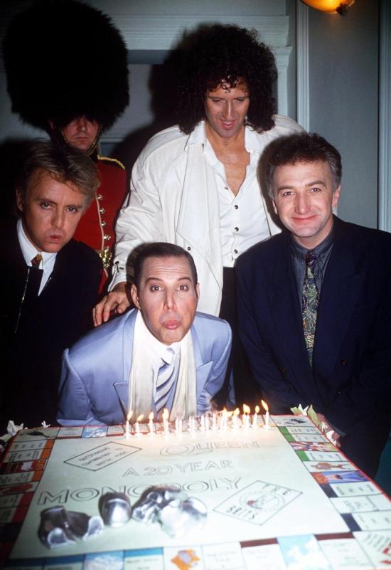 Queen in 1990
