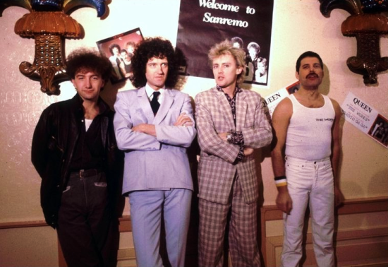 Queen in San Remo, 1984