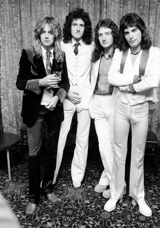 Queen in USA, 1974
