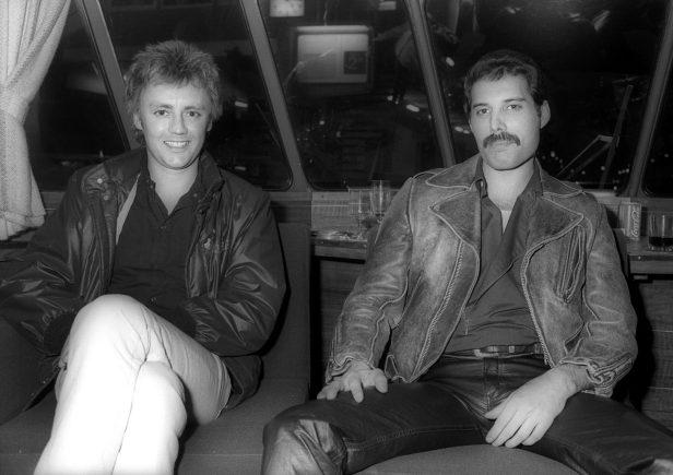 Roger i Freddie w Holandii, 1982 r.