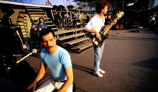 Queen soundcheck in Budapest
