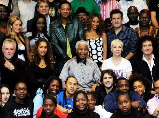 Queen with Nelson Mandela