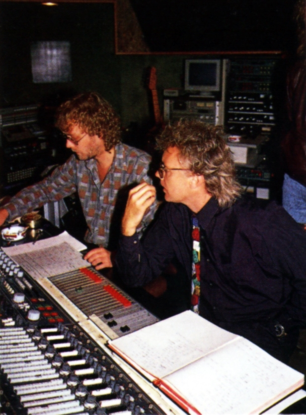 Dave Richards z Rogerem