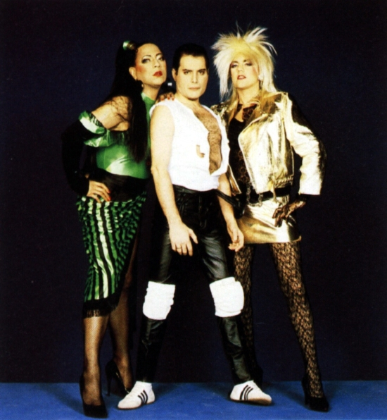 The Great Pretender - Peter Straker, Freddie Mercury and Roger Taylor