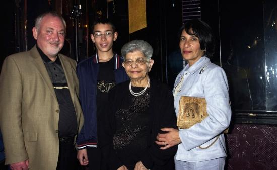 Freddie's family in 2002