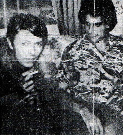 David Bowie & Freddie Mercury, 1978