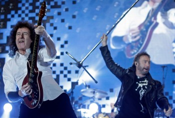 Paul Rodgers, Brian May,