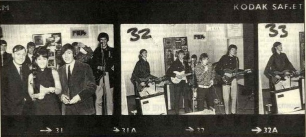 1984 podczas Battle of the Bands; Top Rank Club, 9 września 1967 r.