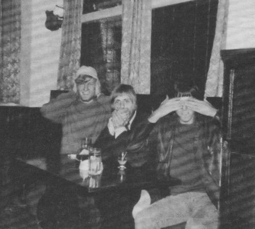 The Reaction, od lewej: Mike Dudley (gitara), Roger Taylor (perkusja, wokal) i Rick Thoring (gitara basowa); wrzesień 1968 r.