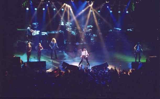 The Brian May Band w akcji, 1993 r.