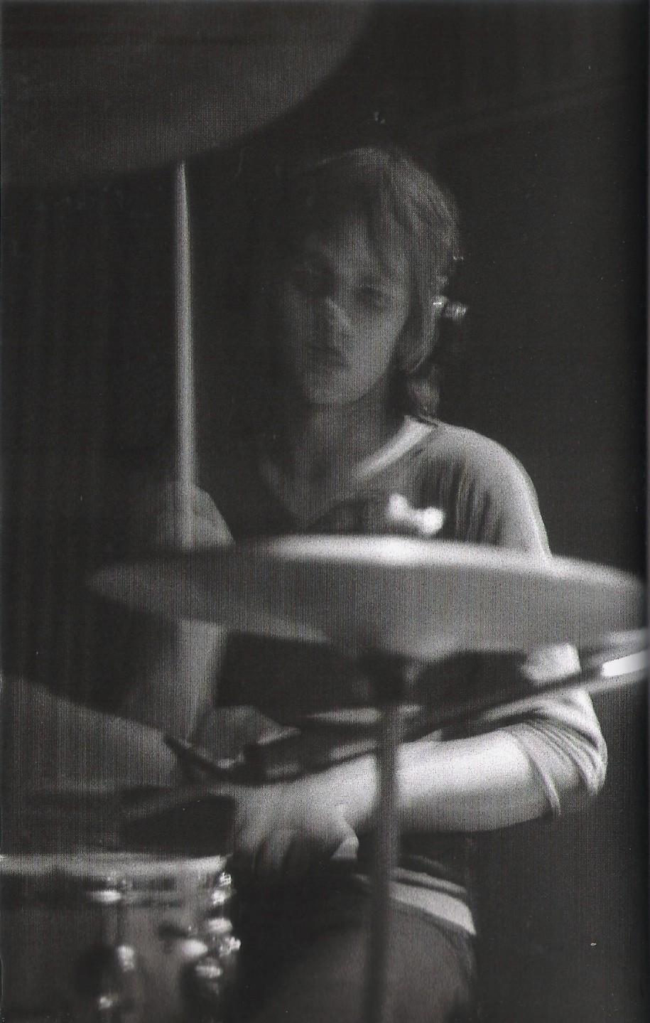 Roger Taylor podczas sesji w Trident Studios, czerwiec 1969 r.; fot.: Tim Staffell podczas sesji w Trident Studios, czerwiec 1969 r.; fot.: Paul Humberstone